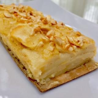 簡単で綺麗な林檎ケーキ! ガトーインビジブル