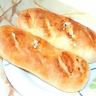 シロカのHBで!ガーリックオイルのフランスパン♪