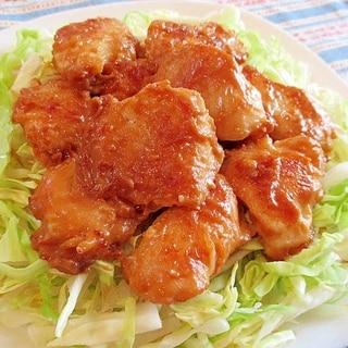 ご飯が進む~!鶏むね肉のマヨ味噌ポン炒め♪