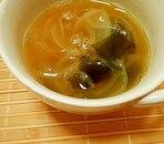 ジンジャーコンソメスープ