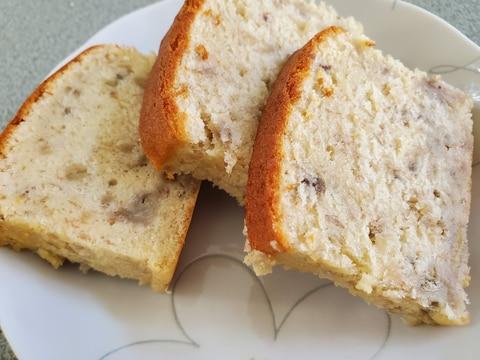 【しっとりバナナケーキ】バター不使用