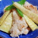 鶏のささみとタケノコの生姜焼き