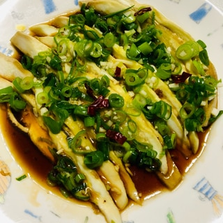 レンジで簡単❣️中華風蒸し茄子❣️