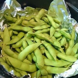 ストウブDE〜枝豆