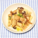 簡単☆きょうの料理☆割り干し大根とツナの炒め物