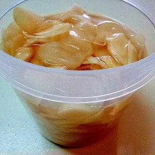 新生姜の簡単甘酢漬け