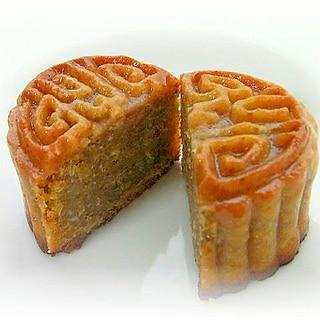 笑顔のナッツ♪开心果(ピスタチオ)月餅