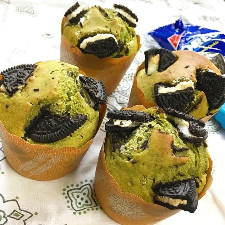 ミックス ホット ケーキ オレオ マフィン