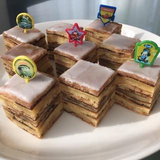 巻かない♡簡単に作れるバームクーヘン