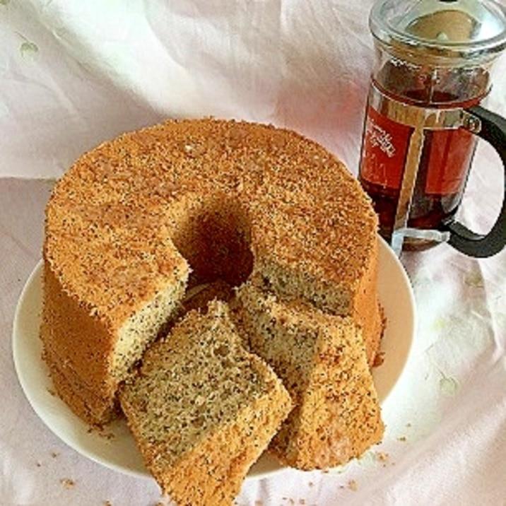 しっとりふわふわ香る…紅茶のシフォンケーキ