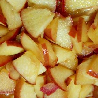 簡単! リンゴのはちみつ煮