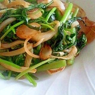 空芯菜と玉ねぎの中華炒め