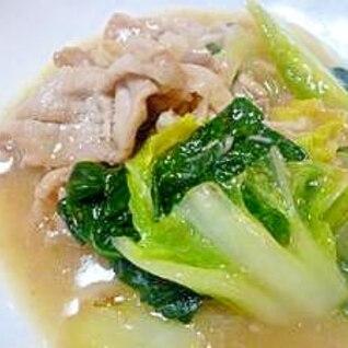 豚肉と白菜の中華あんかけ