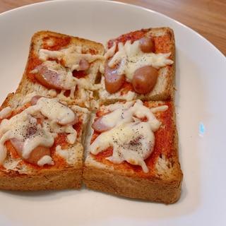 忙しい朝やおやつに!簡単ピザ風トースト