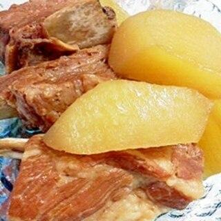 豚スペアリブとヤーコンの煮物