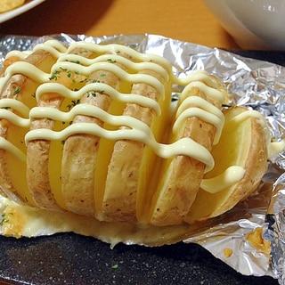 ベイクドポテト( ´ ▽ ` )ノマヨチーズ味
