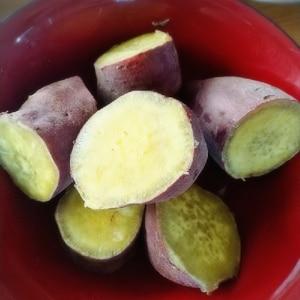 電気圧力鍋で蒸しサツマイモ☆ふかし芋