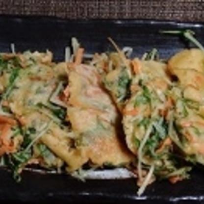 水菜を消費したくて作りました。(ニンジンも入れてみました。) モリモリ食べても罪悪感もなく、美味しく頂けました。