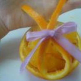 オレンジの切り方