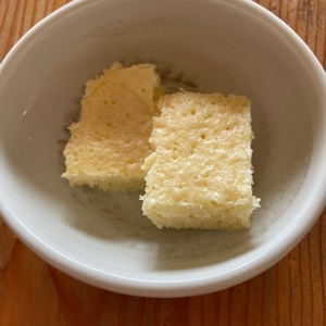 電子レンジでホットケーキミックス蒸しパン