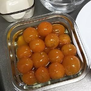 *金柑の甘露煮*