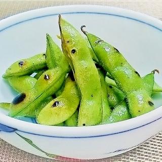 ★焼き枝豆★フライパンで作る夏の一品