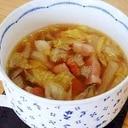 生姜たっぷり野菜スープ