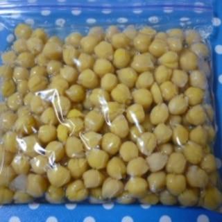 乾燥豆☆ひよこ豆(ガルバンゾー)の煮方&保存法