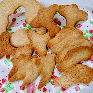 ホットケーキミックスで簡単サクサク型抜きクッキー