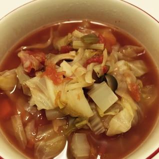 【ダイエット】脂肪燃焼スープ