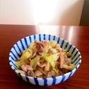 豚肉とエリンギのスパイス炒め