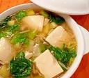 とろとろ豆腐の中華スープ