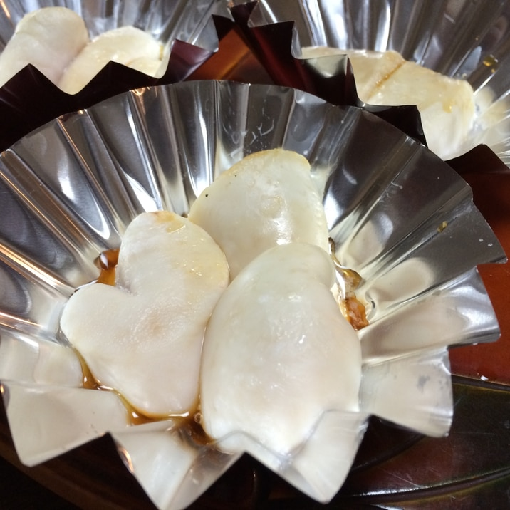 言葉はいらない!日本酒!フグの白子のオーブン焼き!