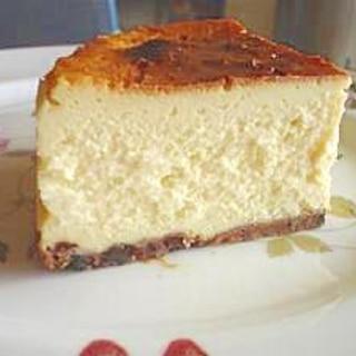 ★ 豆乳で簡単なヘルシーチーズケーキ ★