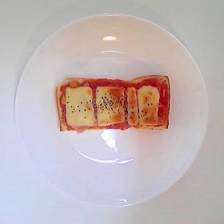 ハムチーズピザトースト