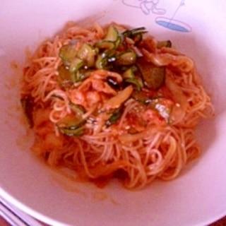 ビビンクッス(韓国混ぜ麺)