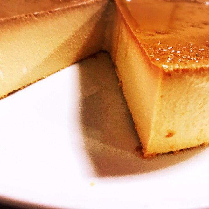 簡単、クリームチーズ濃厚イタリアンプリン!