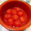 お店の味★ミニトマトのアヒージョ