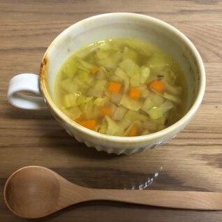 スパイスで一味違うコンソメスープ