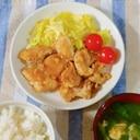 鶏肉のねぎ味噌焼き