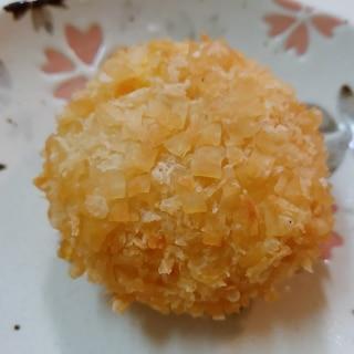 餃子の皮で薩摩芋コロッケ