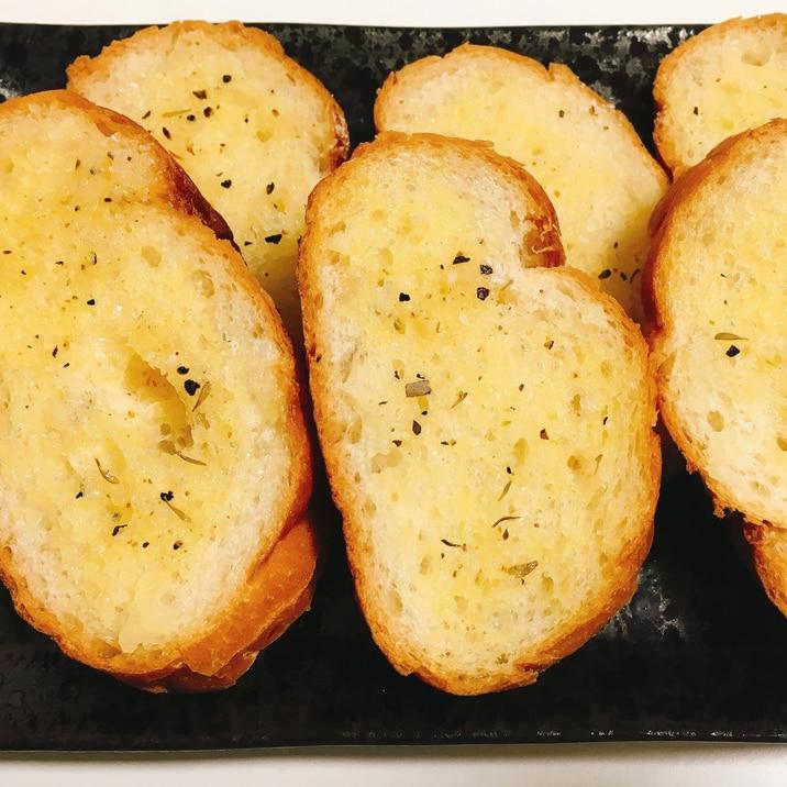 レシピ ガーリック トースト