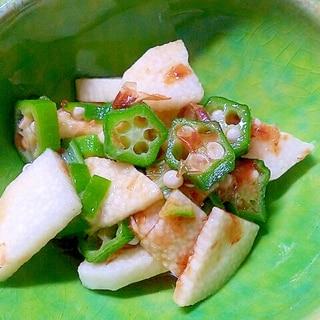 超簡単☆長芋とオクラのさっぱりポン酢和え