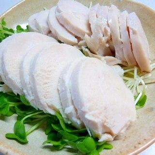 ☆材料は2つだけ♪ しっとり柔らか❤塩麹鶏ハム☆
