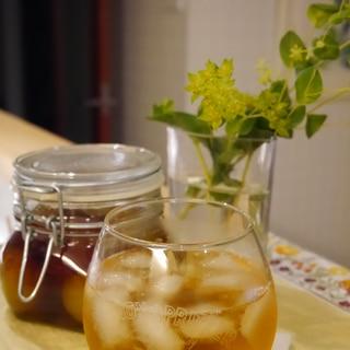 ブランデーで作るノンシュガー梅酒★1週間で完成~♪