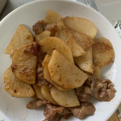 冷蔵庫に余っていた豚肉と山芋で簡単に美味しく作ることができました!リピートしたいです!!