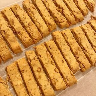 オートミールとおからのクッキー