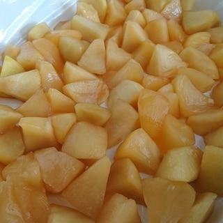 バター不使用のりんごフィリング