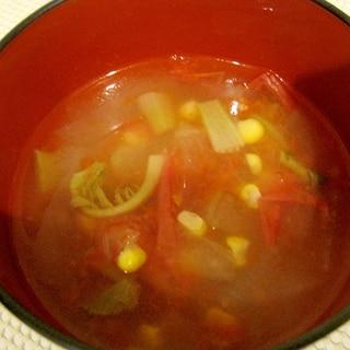 冬瓜とトマトのスープ