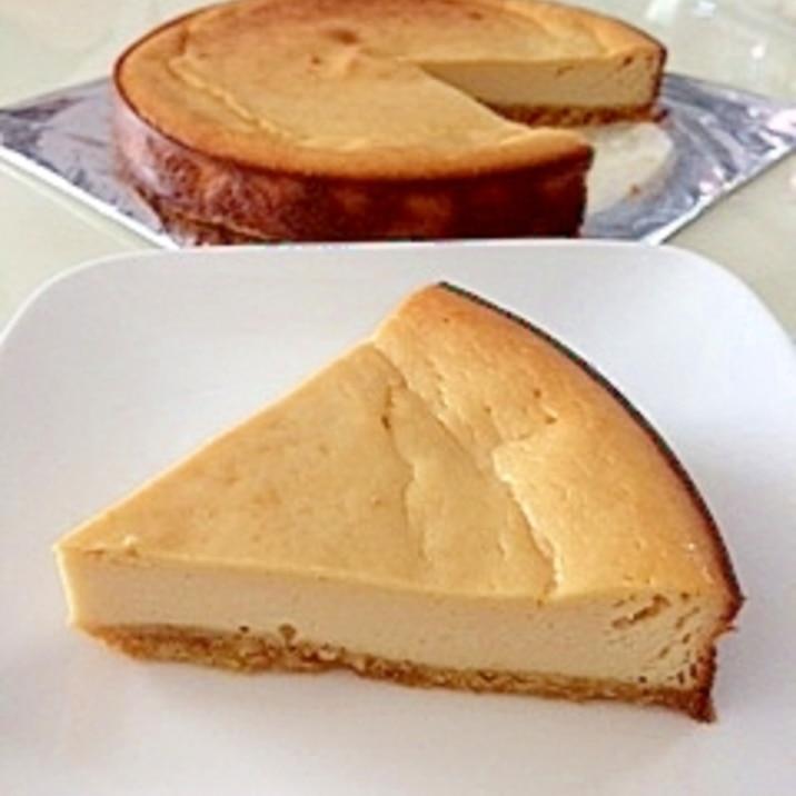 豆腐でヘルシー☆チーズケーキ